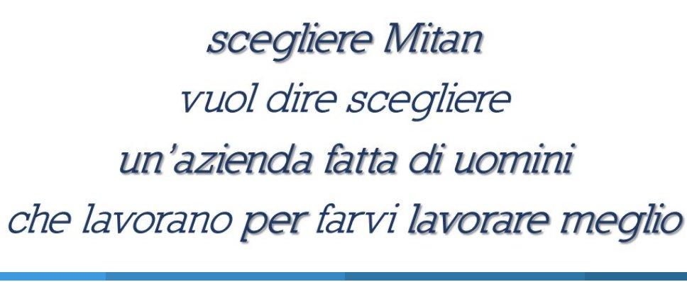SCEGLIERE MITAN