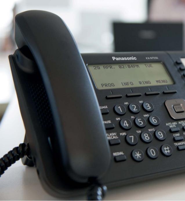 MITAN TELEFONO PANASONIC